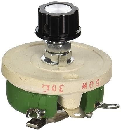 amazon com 50w 30 ohm ceramic potentiometer variable taper pot rh amazon com