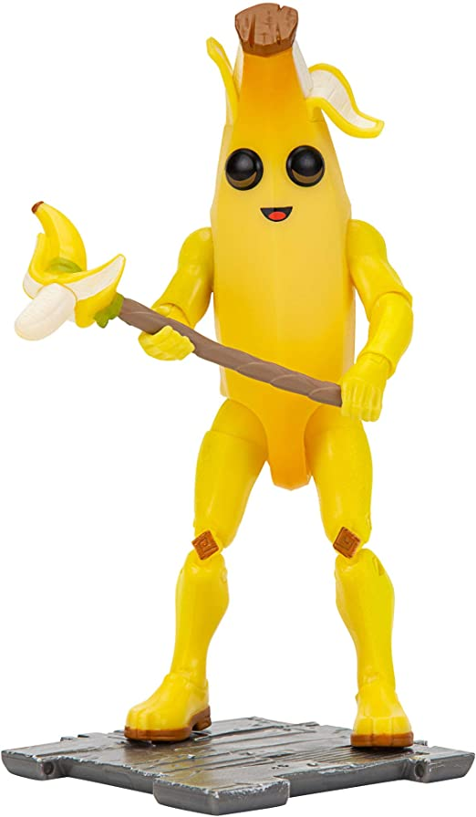 Fortnite Peely Solo Mode Action Figure 10cm Epic Games RARE UK Free Postage 8+