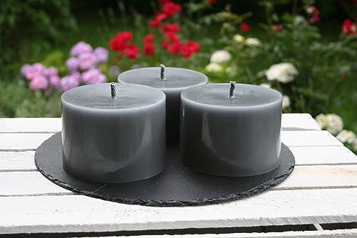 Outdoor Kerzen.3 Stück Outdoorkerzen Outdoor Kerzen Kerzen Flammschale