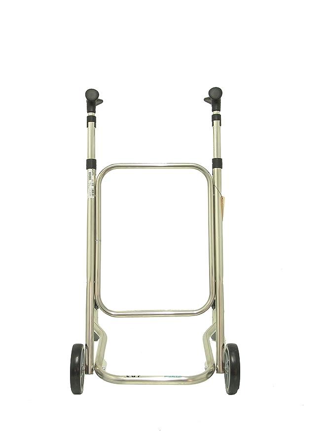Forta fabricaciones - Andador para ancianos FORTA CAR - Negro, Sin accesorios