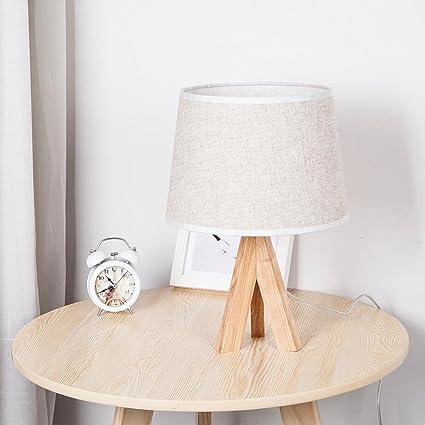 Lámpara de mesita de noche moderna / contemporánea Lámpara ...