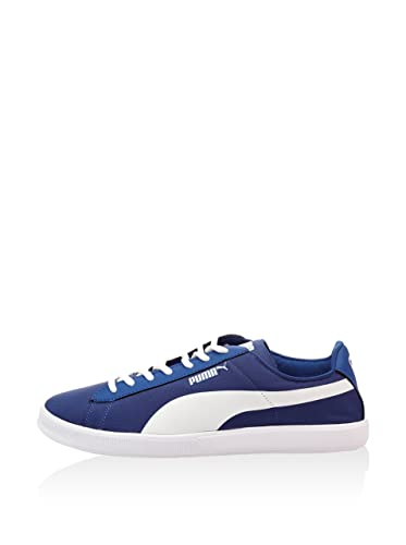 b77181982c04 Puma Women s Archive Lite Lo Nylon Tech Trainers blue blue  Amazon ...