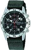 [セイコーimport]SEIKO 腕時計 逆輸入 海外モデル ブラック SND399P メンズ
