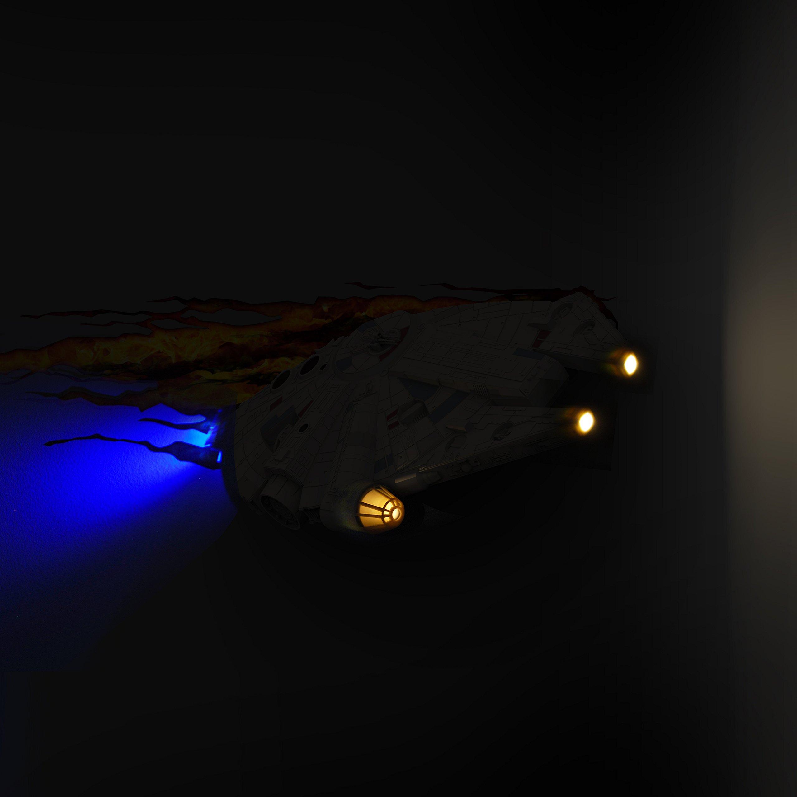 3DLightFX Star Wars Millennium Falcon 3D Deco Light by 3D light FX (Image #2)