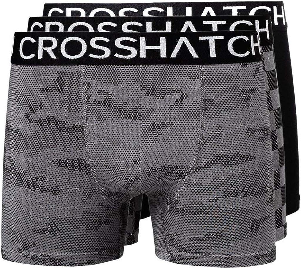 3 unidades Crosshatch Calzoncillos para hombre