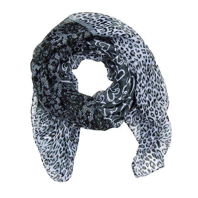 in vendita 9d66a a932e MANUMAR sciarpa Cuori Hearts signora sciarpa scarf. Sciarpa morbida come  accessorio elegante. Regalo di natale Amica Donna