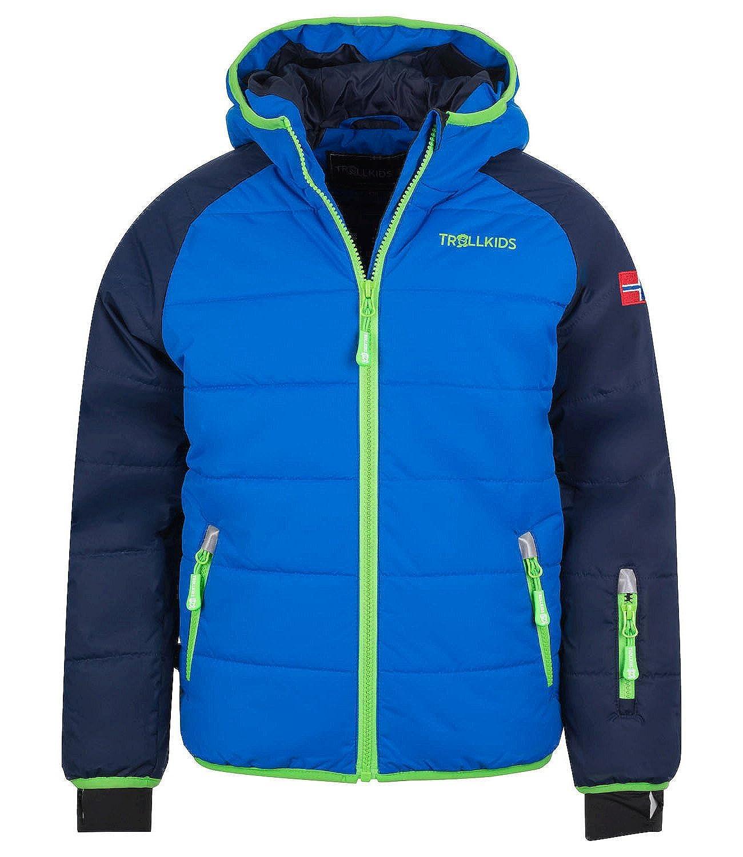Marinebleu   Mittelbleu   vert 14 ans TrollEnfants Hafjell Veste de ski pour enfant