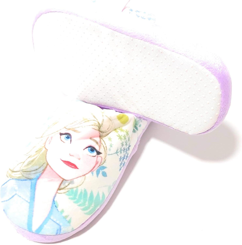 Zapatillas Frozen Elsa de Estar por Casa Zapatillas Disney Frozen Pantuflas Slippers para Ni/ñas