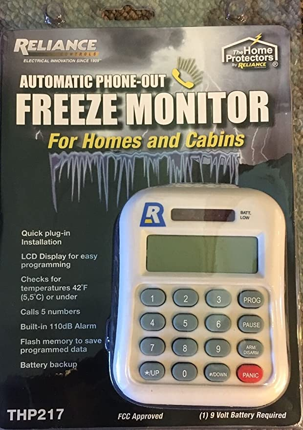 Amazon.com: Reliance controls thp217 phone-out congelación ...