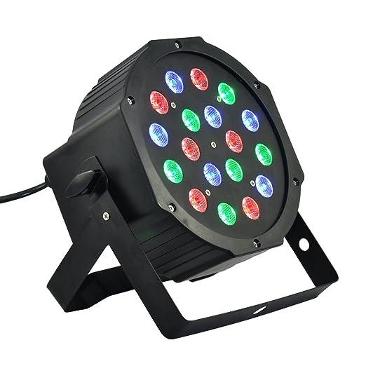 160 opinioni per FARO STROBO RGB DJ FARETTO LAMPADA 18 LED DA 18W COLORI EFFETTO DISCOTECA