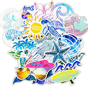 Waterproof Stickers for Laptop, Aesthetic Stickers for Water Bottles - Cute Vinyl Stickers for Teens, Laptop Stickers for Adults (1 Vsco Stickers 50Pcs)