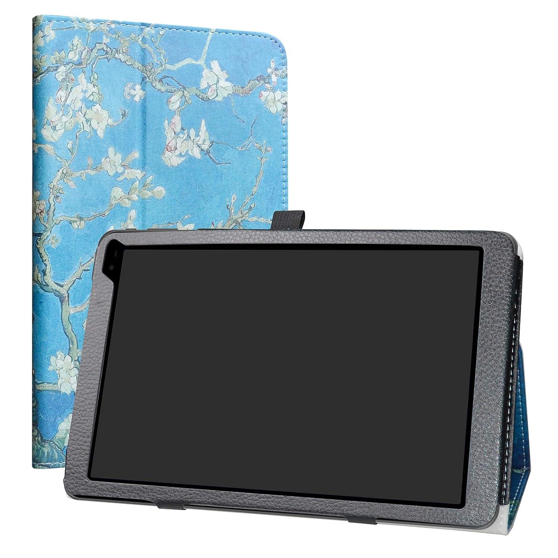上品 LiuShan PUレザー 10 スリム Blossom フォールディング スタンド カバー 10.1インチ B07L4M2DN9 バーン & ノーブル Nook 10 (BNTV650) 10.1インチタブレット PC用 透明 LS00453-7 Almond Blossom B07L4M2DN9, TRIVANDRUM:983fc2f5 --- a0267596.xsph.ru
