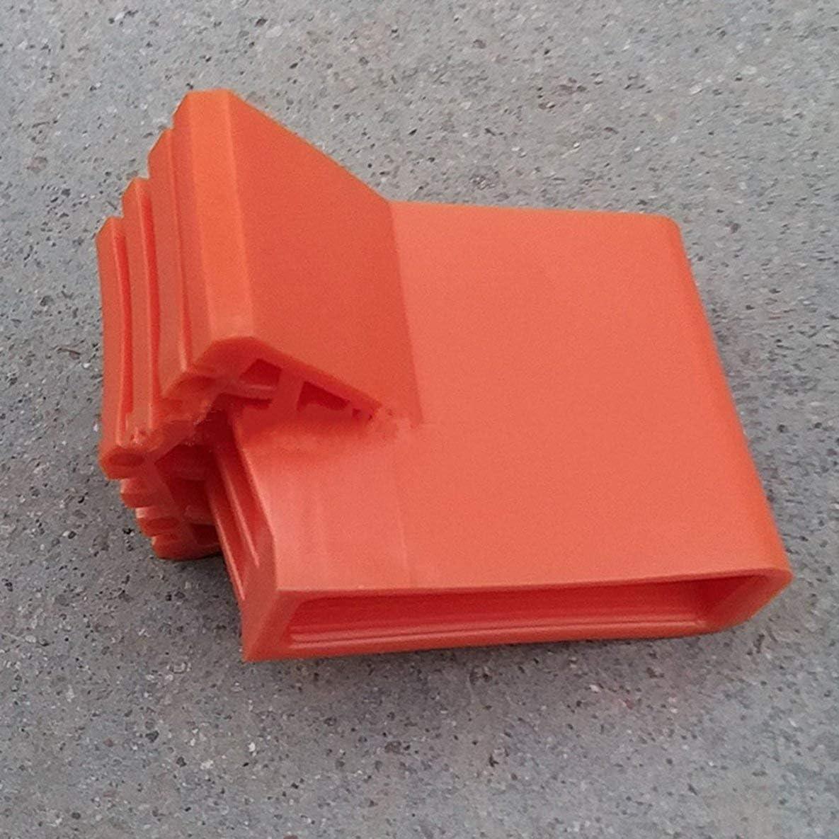 Escalera Cubierta de pie redonda Exquisita Duradera Escalera plegable multifunci/ón Cubierta de pie en forma de abanico Alfombrilla antideslizante//Naranja