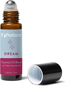 Sleep Oil Roll-On - Peace and Calming Essential Oil Roller for Sweet Dreams and Serenity - Lavender and Chamomile Blend - Stocking Stuffer Idea - Quality Leak-Proof Rollerball - No Diffuser Needed!