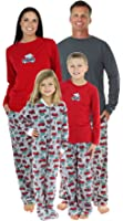 SleepytimePjs Family Matching Holiday Fleece Pajamas PJS Sets For The Family