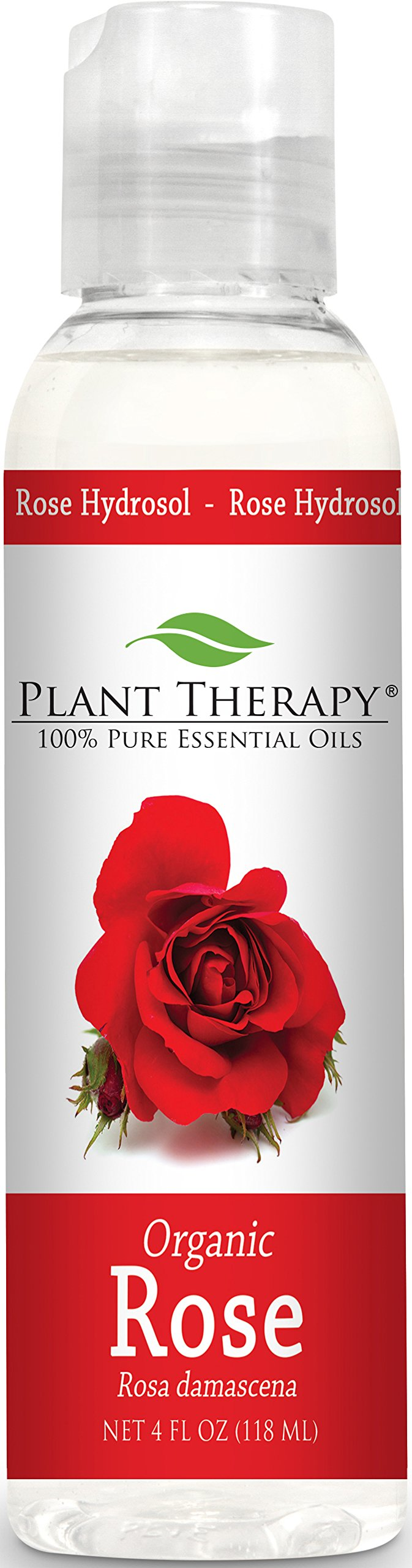 Plant Therapy Organic Rose Hydrosol. (Flower Water, Floral Water, Hydrolats, Distillates) Bi-Product of Essential Oils. 4 oz.