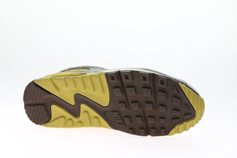Nike Air Max 90 Deluxe Huf 314609-221 Baroque Brown Metallic Gold Size 9:  Amazon.ca: Shoes & Handbags