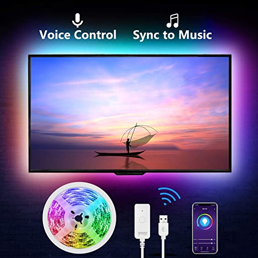 Gosund - Tira de luces LED para televisor con pantalla LED USB ...