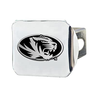 FANMATS NCAA University of Missouri Tigers Chrome Hitch Cover: Automotive