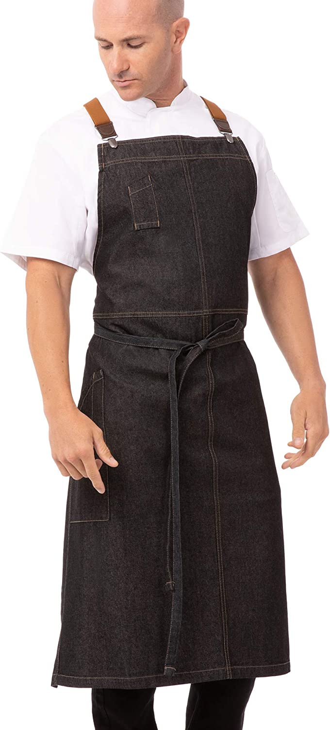 Chef Works Men's Berkeley Chefs Bib Apron