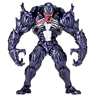 No.003 Venom Spider-Man Toy with Box, PVC Edward Brock/Eddie Brock Venom Toy, Collectible Action Figures Hand-Made Model: Toys & Games