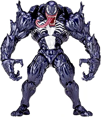 Marvel Spider-Man Venom Revoltech Series PVC Action Figure Model Toys New In Box