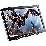 cocopar®10.1インチ2k解像度2560*1600IPS ゲームモニタ ディスプレイPS3/XBOX/PS4モニター1080PダブルHDMI 超薄1CM Raspberry Pi 対応 PCモニタースピーカ内蔵(ブラック)
