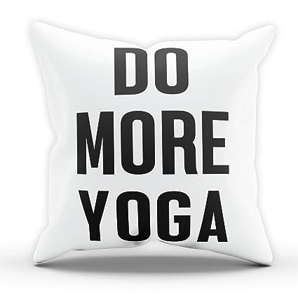 Hacer más divertido de Yoga gimnasio Fitness almohada cojín ...