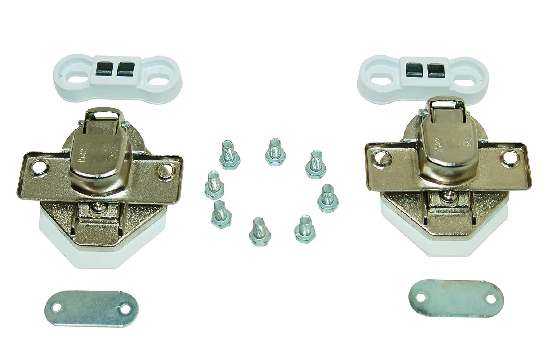 Whirlpool Washing Machine Door Hinge Set Genuine Part Number 481941719605