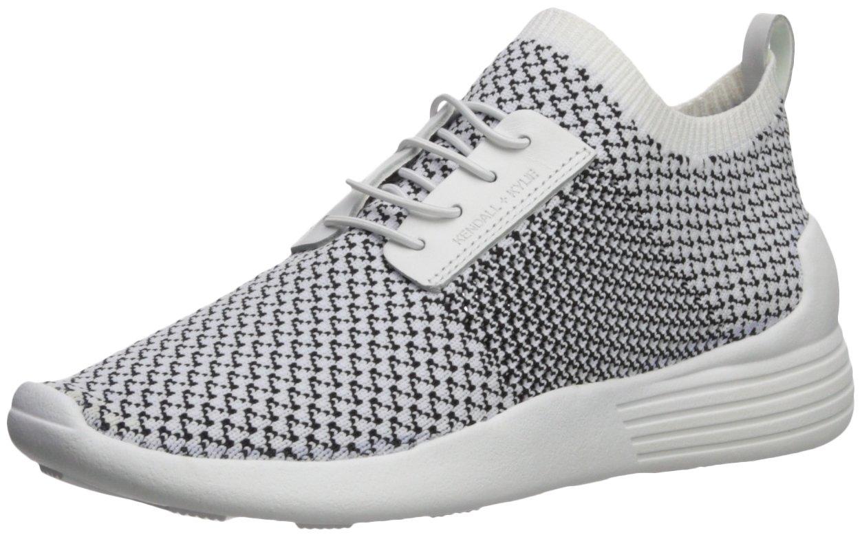 KENDALL + KYLIE Women's Brandy Sneaker B074ZZVXS7 6.5 B(M) US|White