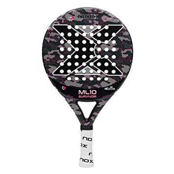 Amazon.com : NOX ML10 Pro Cup Survivor (Grey) Paddle Tennis ...