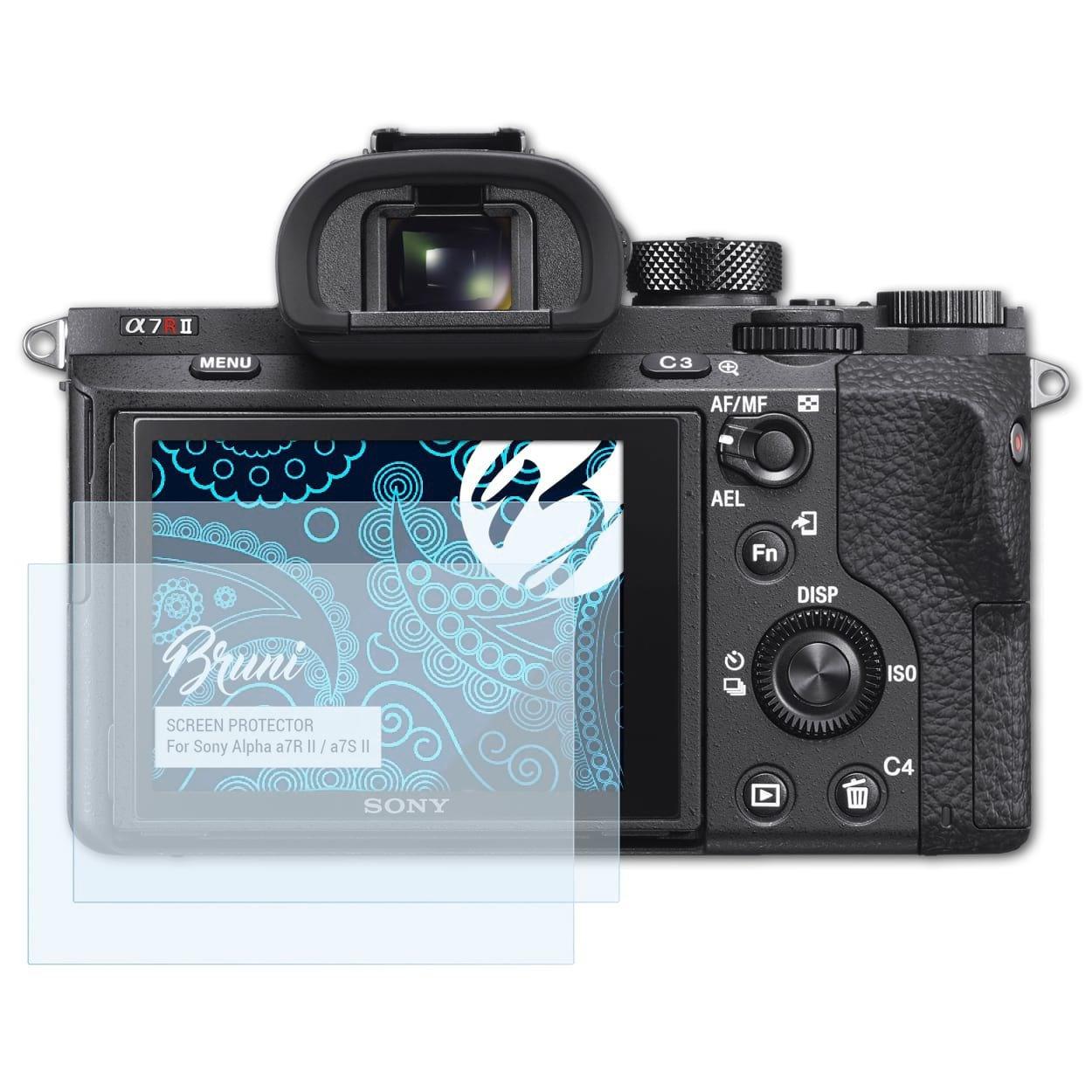 Bruni 2x Folie für Nikon D5000 Schutzfolie Displayschutzfolie