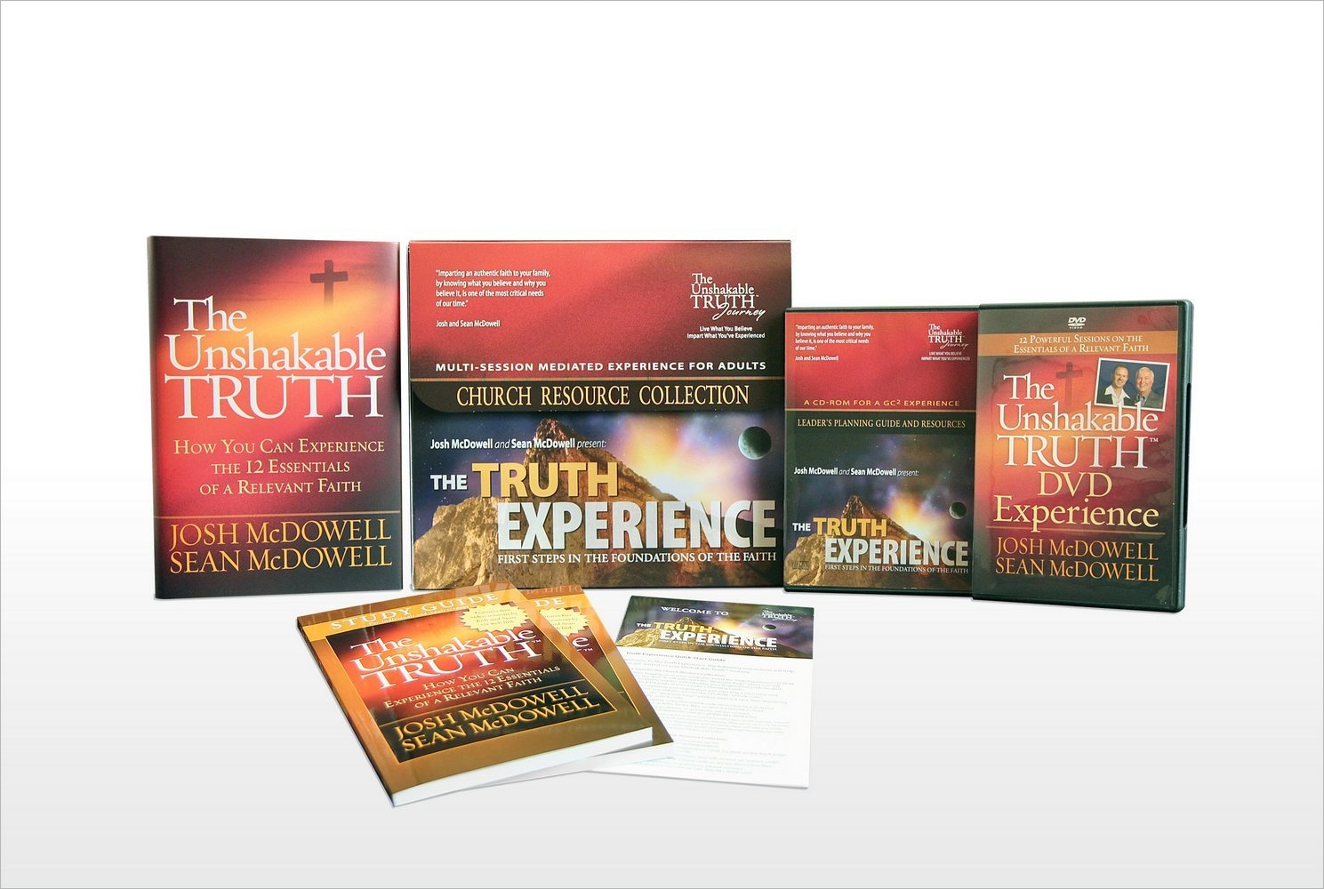 The Truth Experience Church Resource Collection: First Steps in the Foundations of the Faith: Josh McDowell, Sean McDowell: 9780736946636: Amazon.com: Books