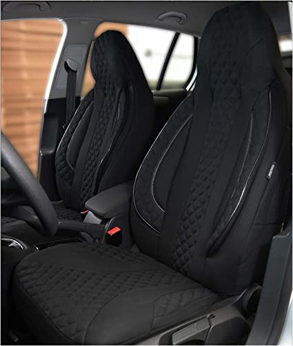 N306 coprisedili e coprisedili per sedili anteriori 2016 numero colore Coprisedili compatibili con Subaru XV 1 conducente e passeggero a partire dal 2012
