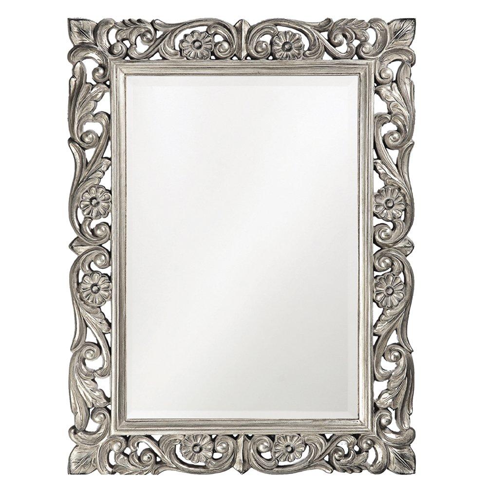 Howard Elliott 2113N Chateau Mirror, Nickel