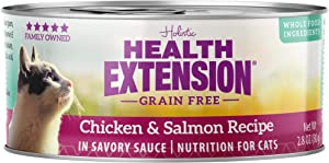 Health Extension Grain Free Chicken & Salmon Recipe Canned Wet Cat Food - (24) 2.8 Oz Cans