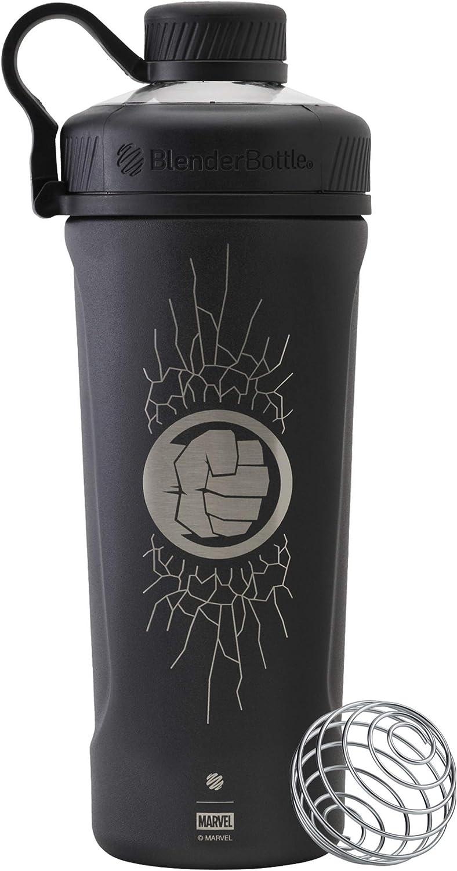 BlenderBottle C04264 Marvel Comics Radian Insulated Stainless Steel Shaker Bottle, 26-Ounce, Hulk