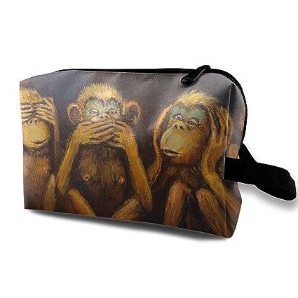 Bolsas de cosméticos de Viaje Monkey Babies Bolsa de ...