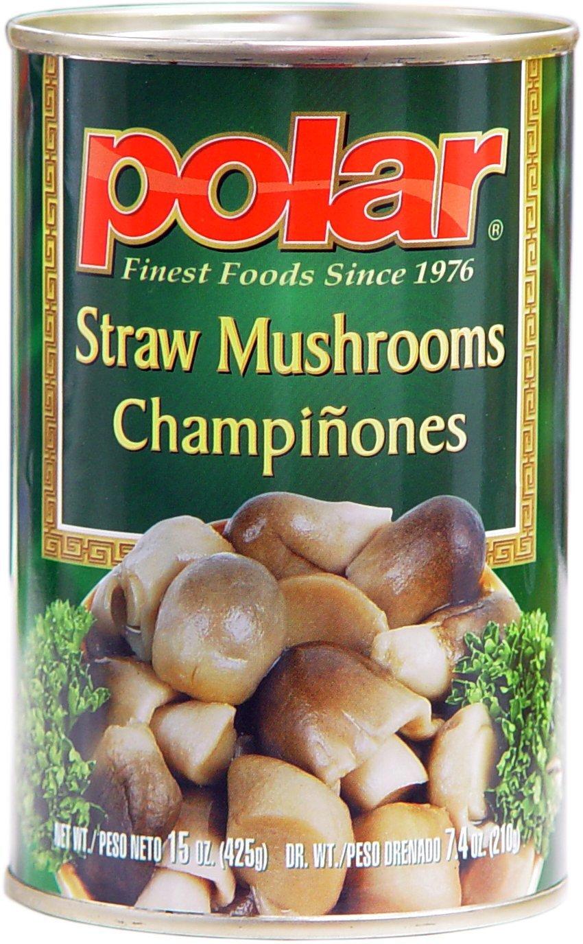 MW Mushrooms Polar, Stir Fry Straw Mushrooms, 15 oz (Pack de ...