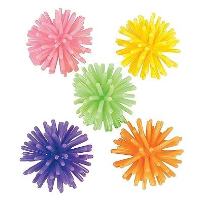 Fun Express - Mini Porcupine Balls (6dz) - Toys - Balls - Porcupine & Noodle Balls - 72 Pieces: Toys & Games