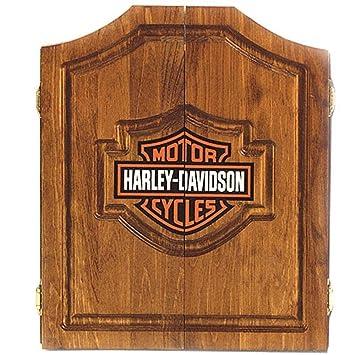 Superior Harley Davidson Dart Board Cabinet