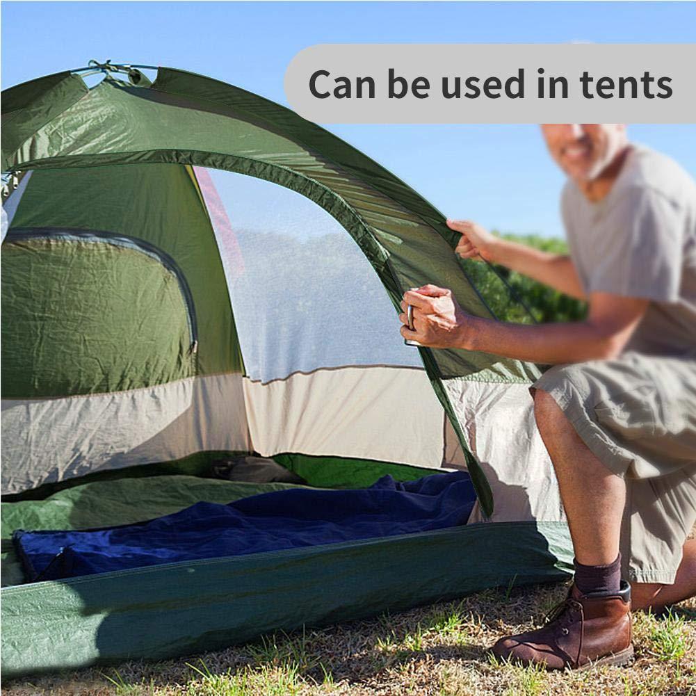 Tbest Forro de Saco de Dormir Forro de Saco de Dormir de algod/ón s/ábana de Viaje y Camping de algod/ón Saco de Dormir Ligero para mochilero de Camping