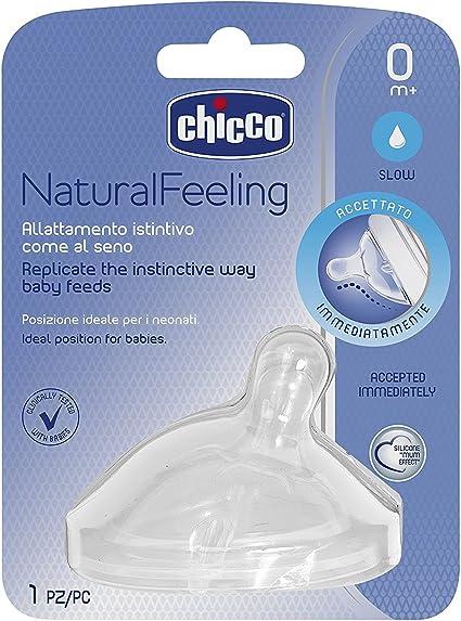 Chicco 00081011100000 Step Up Nueva silicona pez/ón de 0 Meses normal flujo de succi/ón 1 pieza