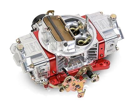 Holley 0-76750RD 750 CFM Ultra Double Pumper Four Barrel Street/Strip  Carburetor - Red