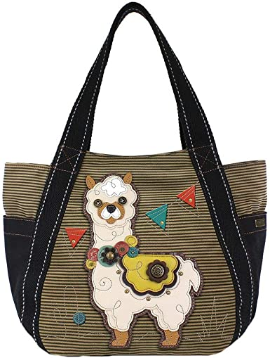 Chala Lazzy Cat Carryall Zip Tote