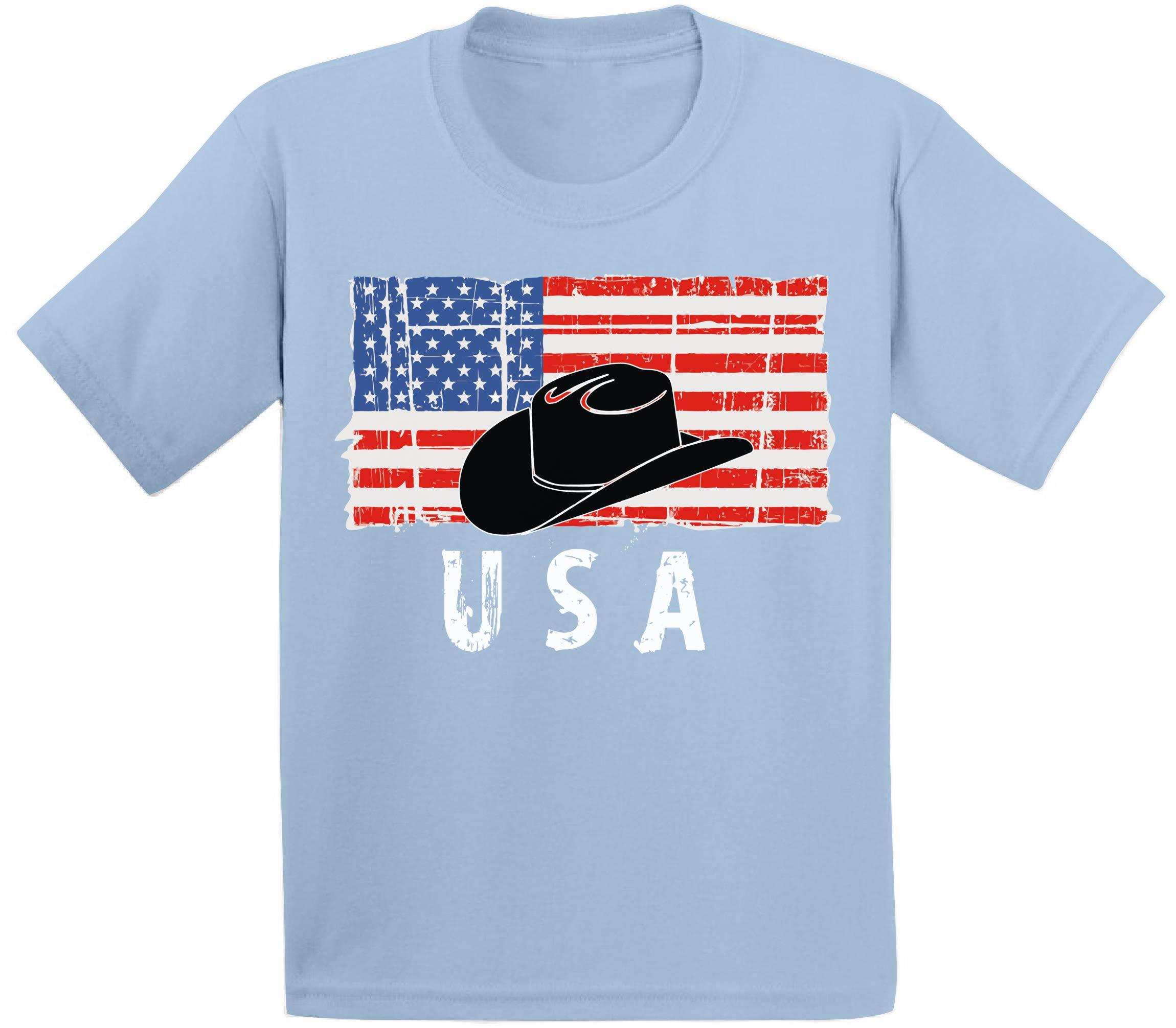 Cowboy Hat Usa Shirt United States Vintage Usa T Shirt