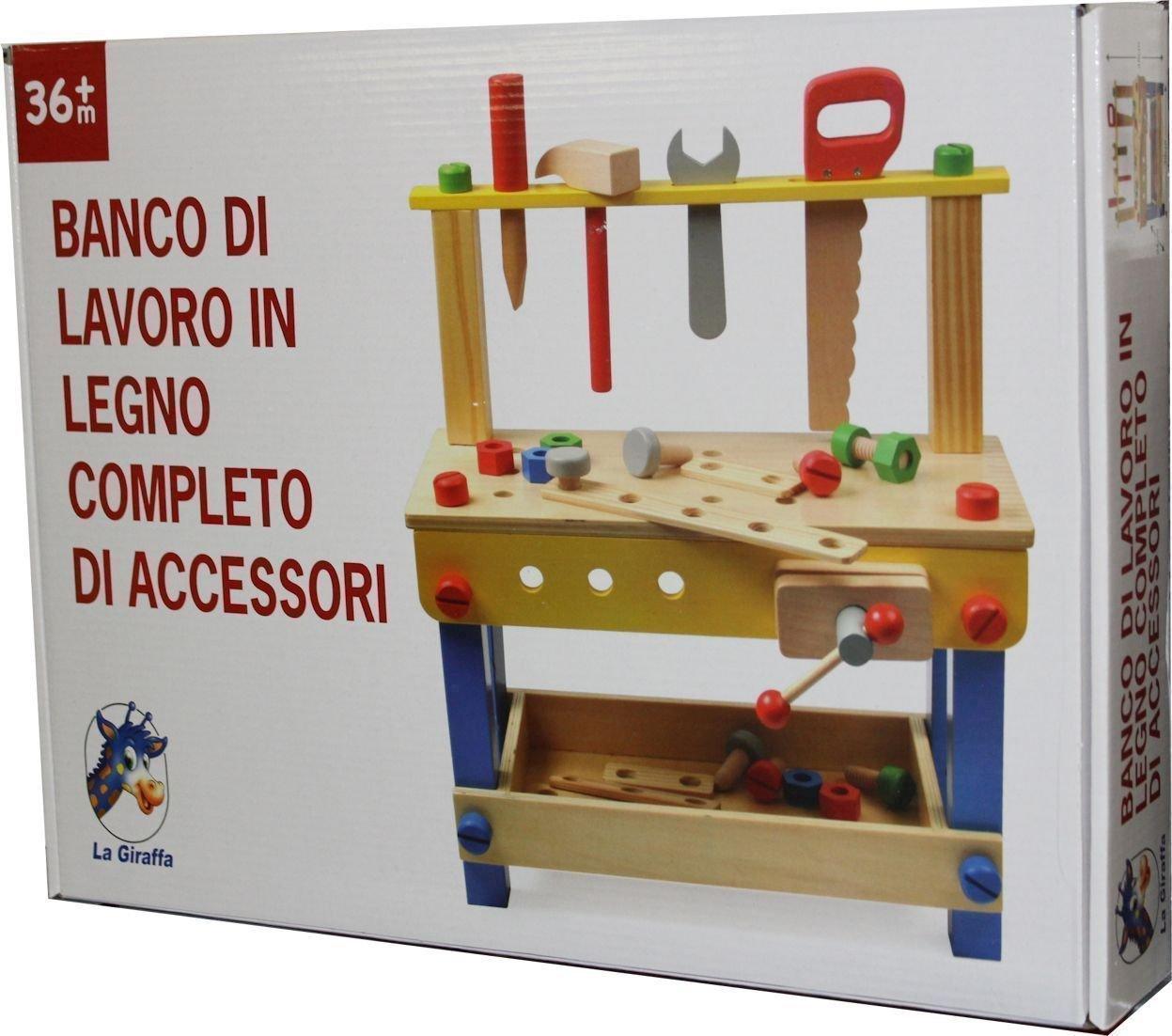 TOYLAND BANCO Lavoro Legno 42292