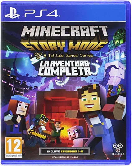 Minecraft: Story Mode - The Complete Adventure: Amazon.es: Videojuegos