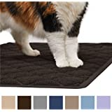 The Original GORILLA GRIP (TM) Premium Cat Litter Mat, XL Jumbo Size, Phthalate Free, Traps Litter from Box and Paws, Best Scatter Control, Soft on Sensitive Kitty Paws, Easy to Clean, Durable