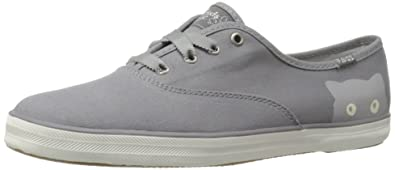 Keds Womens Taylor Swift Sneaky Cat Fashion SneakerGray95